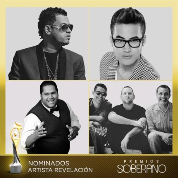reve Nominados a Premios Soberano 2015