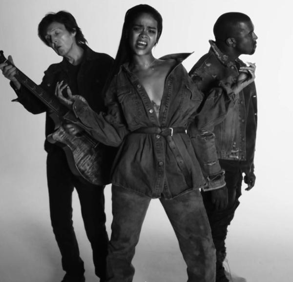rihanna Rihanna ft. Kanye West, Paul McCartney: FourFiveSeconds