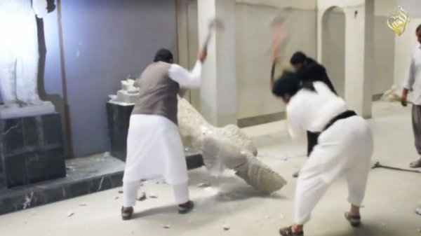 0012259555 Piezas arqueológicas robadas por ISIS de venta en Ebay