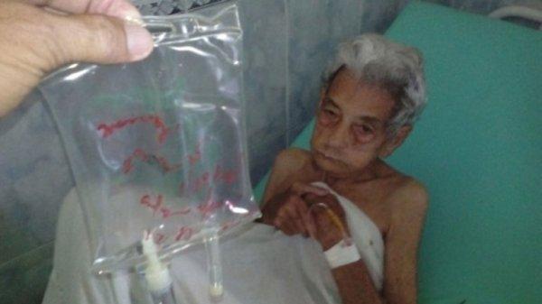0012287423 Fotos: Ancianos en el olvido en hospital cubano