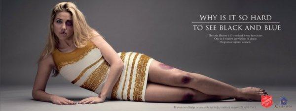 0012300104 Utilizan el famoso vestido para concientizar sobre la violencia de género