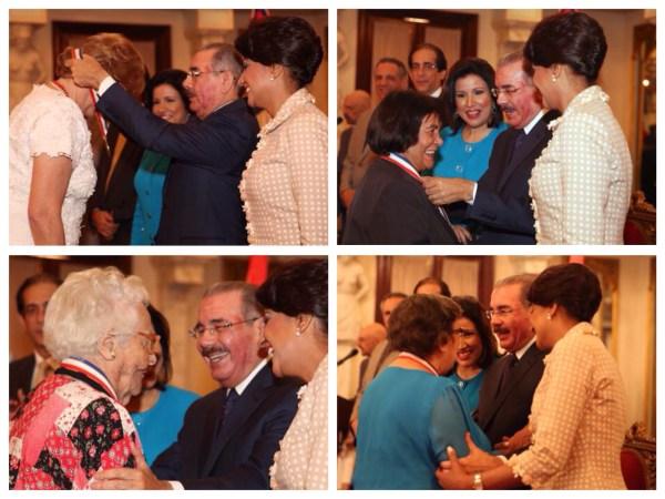 image149 Presidente Medina reconoce con Medalla al Mérito a 13 mujeres