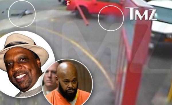 image166 Video cuando magnate del rap Suge Knight atropella a dos personas