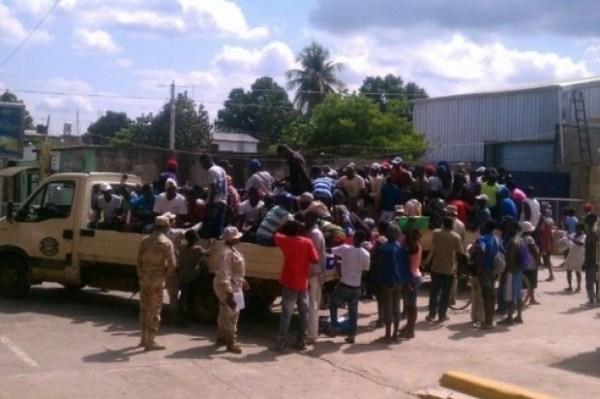 image256 189 haitianos que trataron de entrar ilegalmente al país, son detenidos