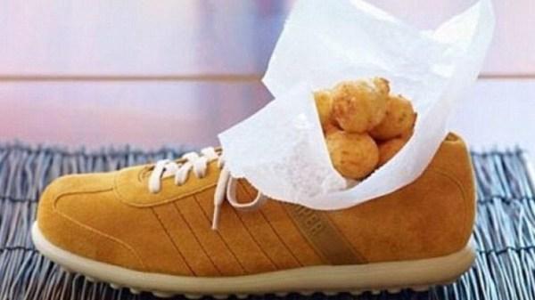image288 Fotos   Comer en zapatos, sombreros y macetas