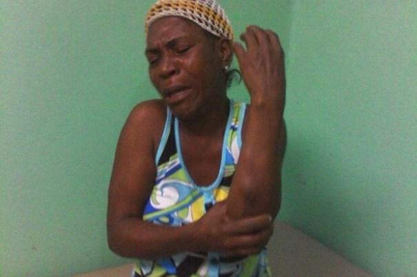 img 6646 Tipo golpea a su madre y a su hermana porque le escondieron un chin de arroz