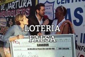 LOTERIA falsa