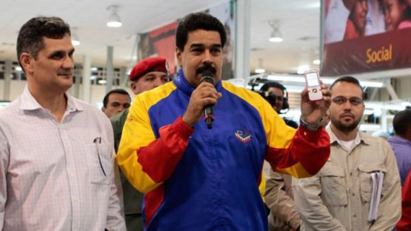 0012415125 Maduro convoca hoy tuitazo contra Obama