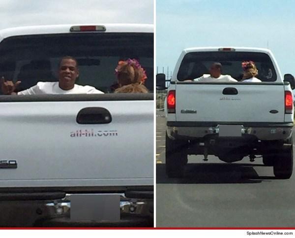 image131 Foto   Jay Z y Beyonce cogen bola en cama de camioneta
