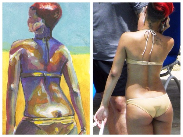 image242 Traseros de famosas inspiran artista española