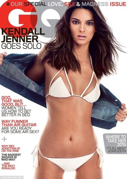 image256 Fotos   Kendall Jenner va topless para GQ