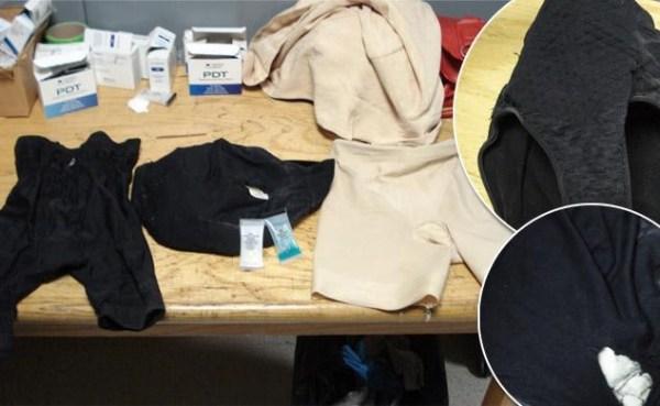 image400 Hallan 4 libras de cocaína en cintura y ropa interior de doña de 70 años