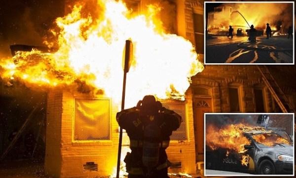 image572 Baltimore declara el toque de queda