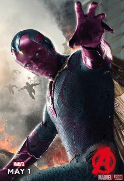 vision La primera imagen de Vision de Los Vengadores: La Era de Ultrón
