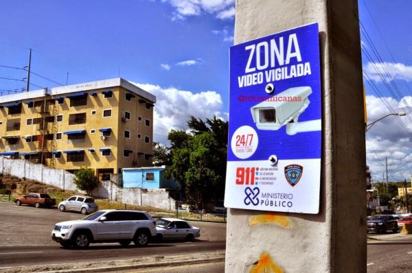 Zona Vigilada con video en Santo Domingo