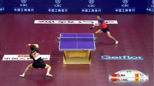 0012585957 Video   El extraordinario punto del siglo de ping pong