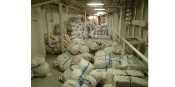 droga Atrapan barco con US$13 millones en marihuana próximo a Haití
