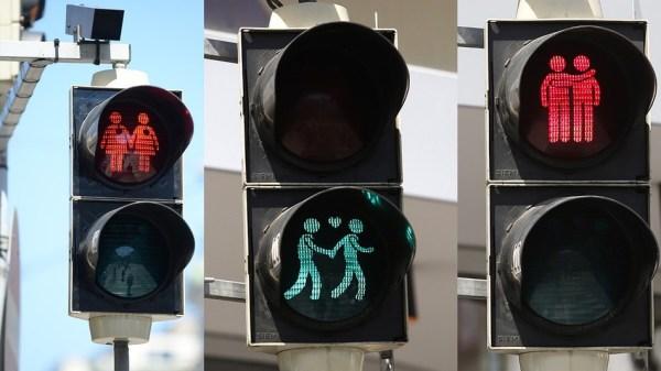 image243 Viena coloca semáforos igualitarios para celebrar Eurovisión