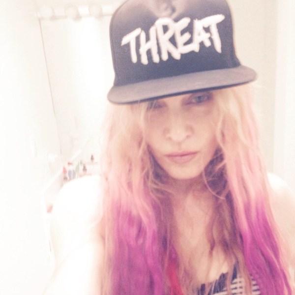 image517 Fotos   El nuevo look de Madonna