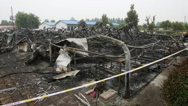 image631 Un incendio deja 38 muertos en un asilo de China