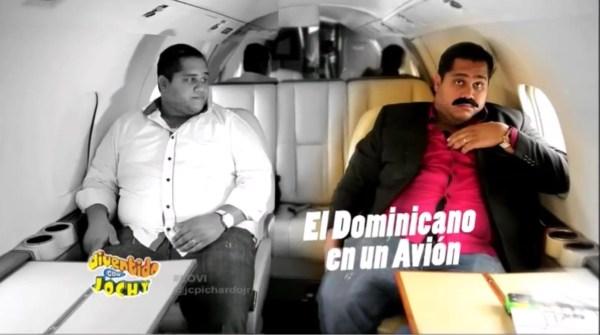 image672 Video   El dominicano en un avión (Humor criollo)