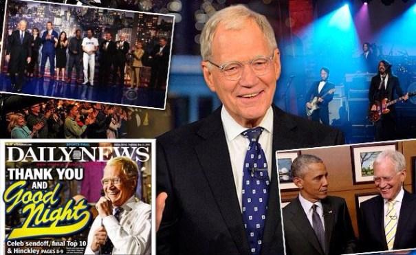 img 8801 Se retiró David Letterman tras 33 años en televisión gringa