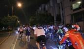 bicicletada nocturna en Santo Domingo