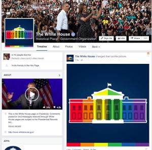 La Casa Blanca celebra en Facebook la decisión sobre el matrimonio igualitario