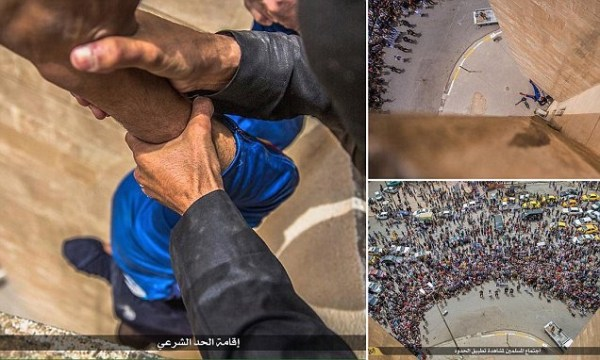 image58 Verdugos del ISIS lanzan homosexuales desde terraza de edificio