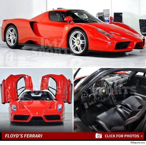 w704 Floyd Mayweather: Estoy vendiendo mi Ferrari Enzo