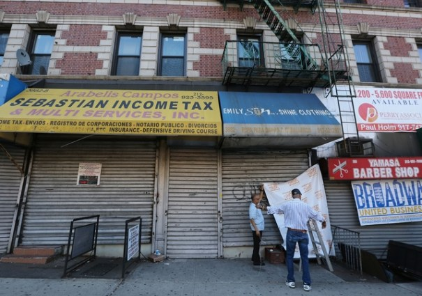 bodega Comerciantes de Washington Heights al grito por alza de la renta