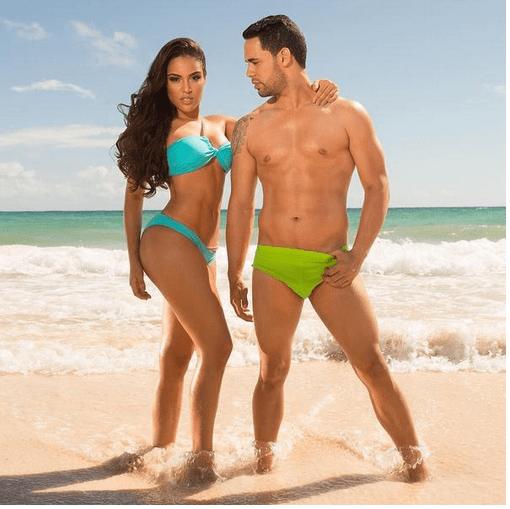 Cuerpos Hot Nabila y Alberto Mena