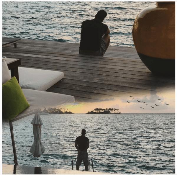 musa Foto   Romeo Santos busca la musa en Las Maldivas