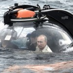 vladimir putin FOTO –Presidente ruso jangueando en submarino