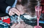 Young-man-sniffing-cocaine