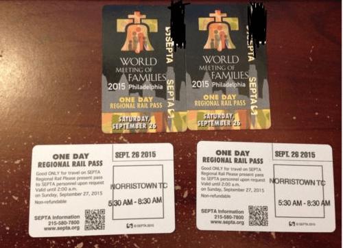 boletos del papa