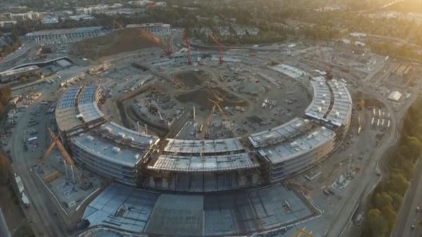 campus apple Chequea como va el nuevo campus de Apple