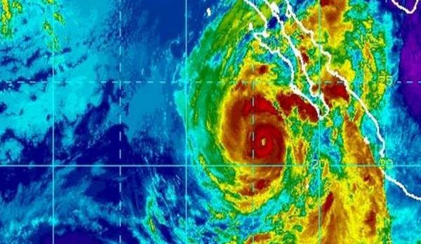 """huracan linda Huracán """"Linda"""" sube a categoría 3 [México]"""