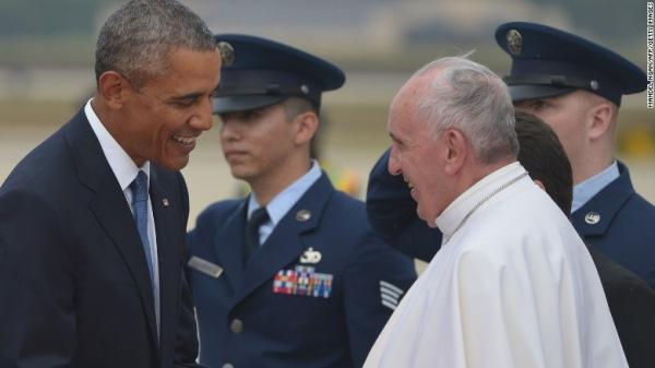 papa francisco5 El Papa llegó a Estados Unidos