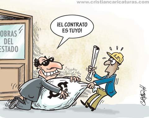 21412757943 5d75163497 La obra es tuya...¡Y el dinero mío! (Caricatura)