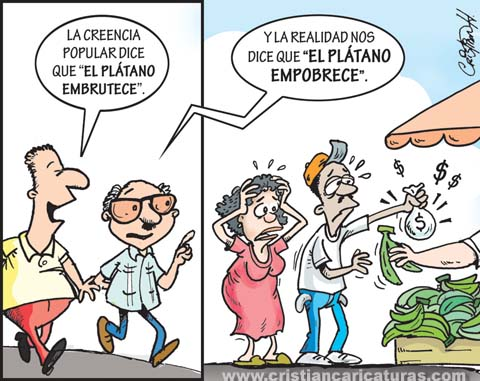21672263639 fdcba3a258 o El plátano empobrece (caricatura)