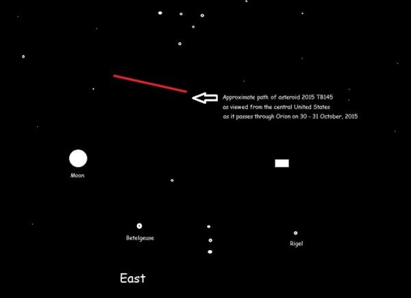asteroide pasara cerca de la tierra 3 Asteroide pasará cerca de la Tierra