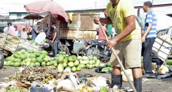 mercado convertido en basurero rd Mercado convertido en basurero [RD]