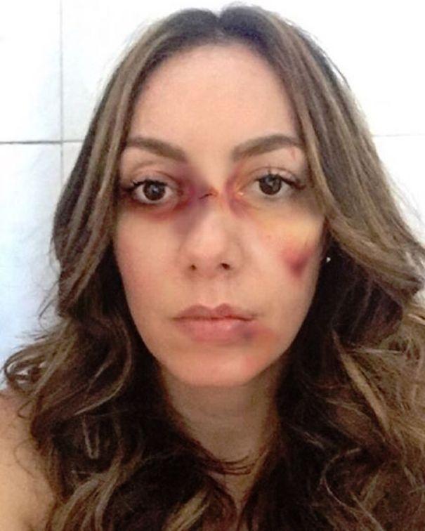 miralba ruiz FOTOS – Ingeniosa campaña para la NO violencia contra la mujer
