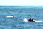 nau Rescatan a dos criollos en costa de Puerto Rico