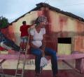 artesano Video   Arte callejera dominicana bacana de Nagua