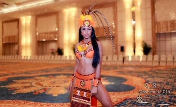 cinthya nunez Wepa! – Criolla entre las favoritas Miss World 2015