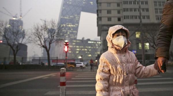 contaminacion beijing Alerta roja por contaminación [China]