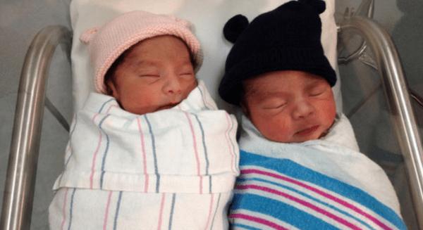 gemelos Foto   Mellizos nacen en años diferentes (EEUU)
