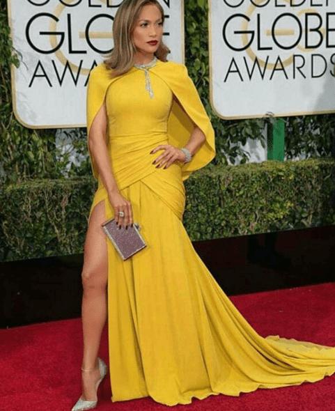 jlo Lo lindo y lo feo de los Golden Globes